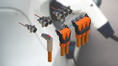 Different connectors and cable assemblies for HV- & E-Mobility applications in the industrial sector.