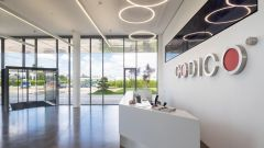 This image shows the reception area of CODICO.