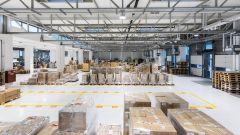 CODICO warehouse handling area.