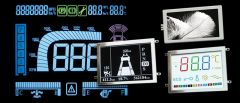 This is a customized LCD display.