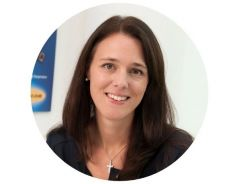 This picture shows Birgit Punzet, a representative of the marketing department.
