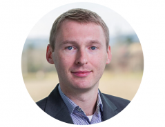 This image shows Andreas Hanausek, a representative of the product management department.