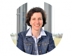 This image shows Monika Thenner-Eßkuchen, a representative of the human resources department