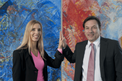 This image shows CEOs Karin and Sven Krumpel.