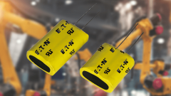EATON's PTV electric double layer capacitors provide ultra-high capacitance and high-density power.